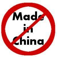 No China Sales